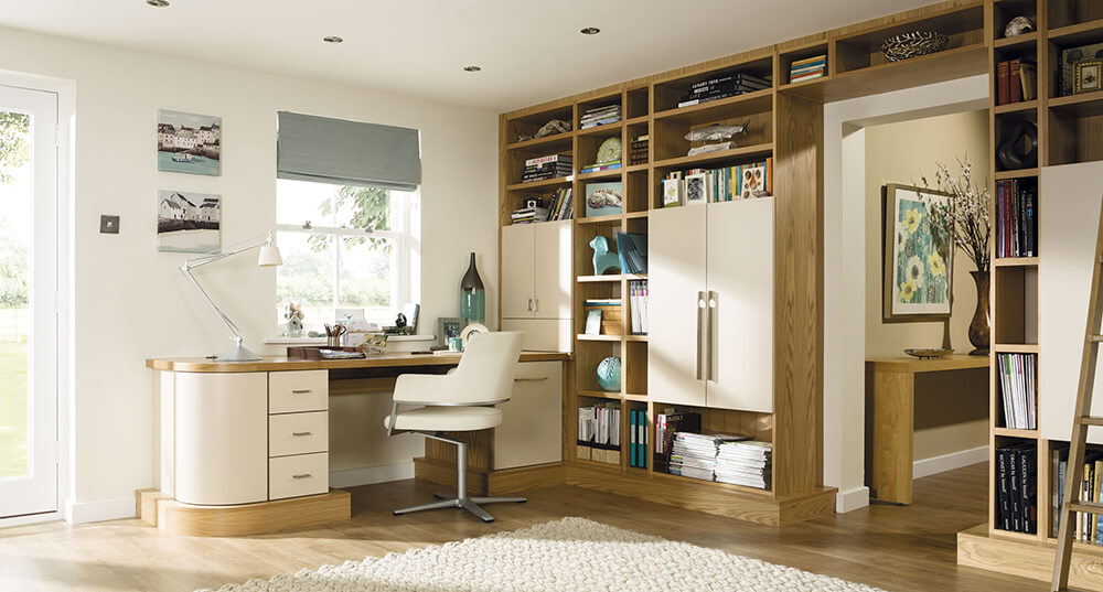 home office open plan