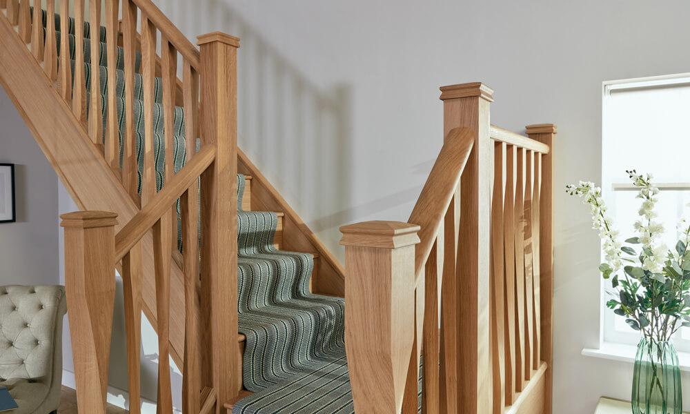 Eden Staircase with Kersaint Cobb Runner