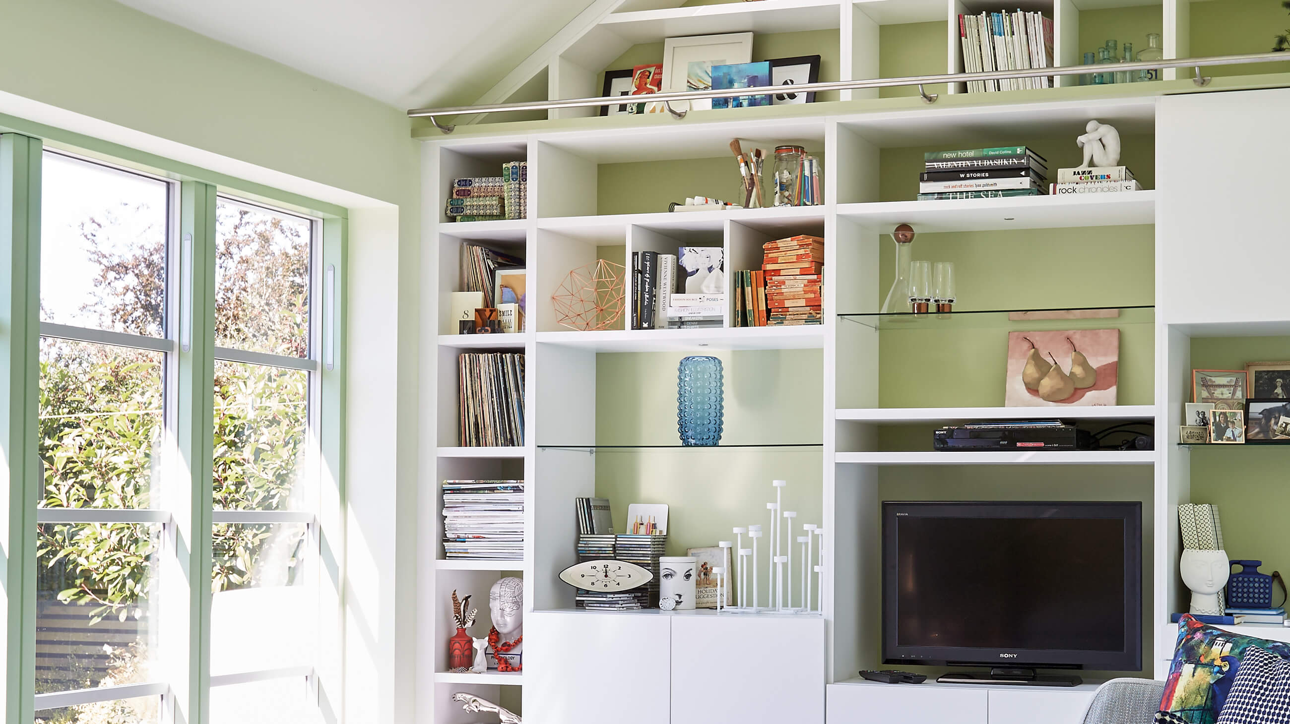 Small Space Storage Ideas At Home  Neville Johnson