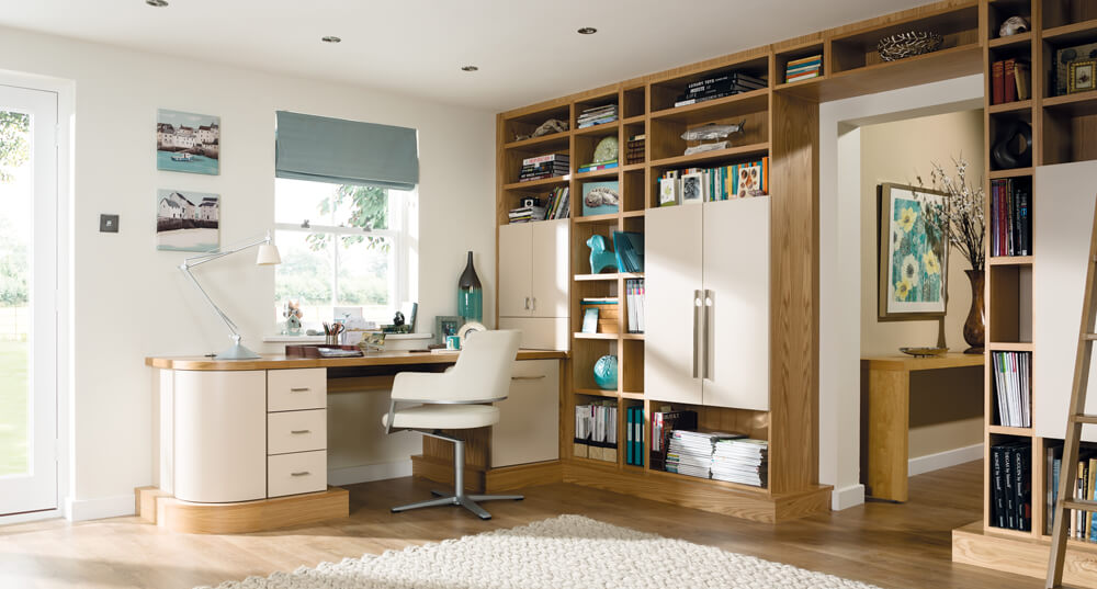 Home Ofiice Small Space Storage