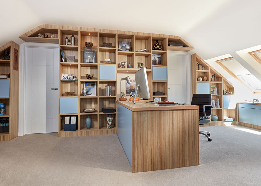contempoary loft study