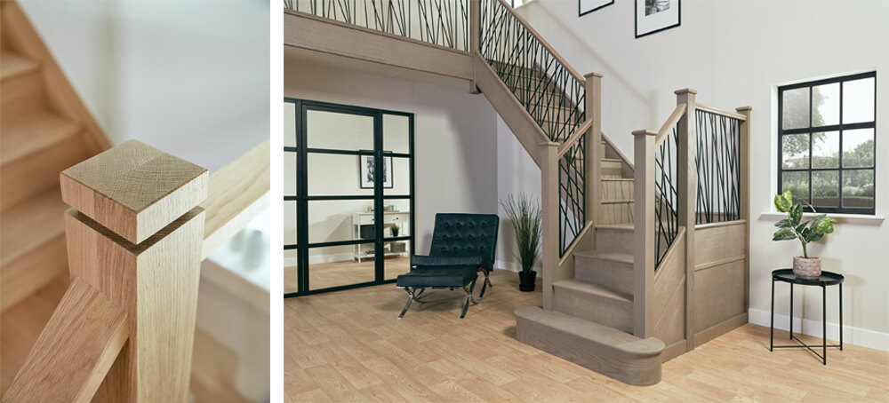 luxury staircase renovation