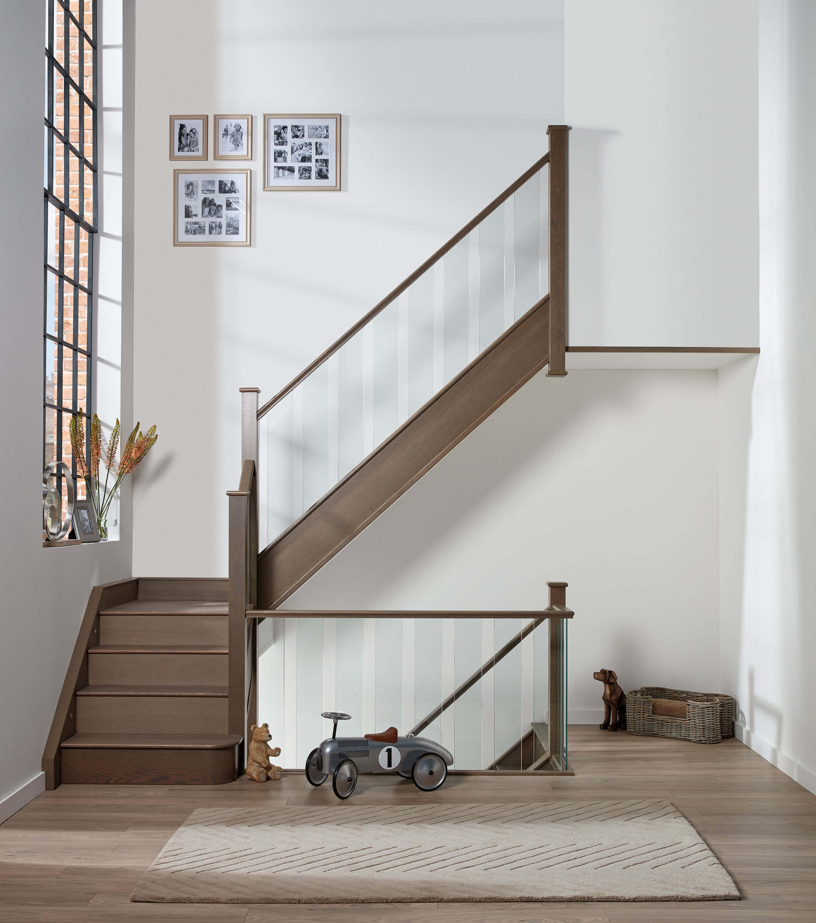 Our unique glass spindles are set into the solid wood base rail by our  talented installers, ensuring a strong and sturdy finish that will last the  test of ...