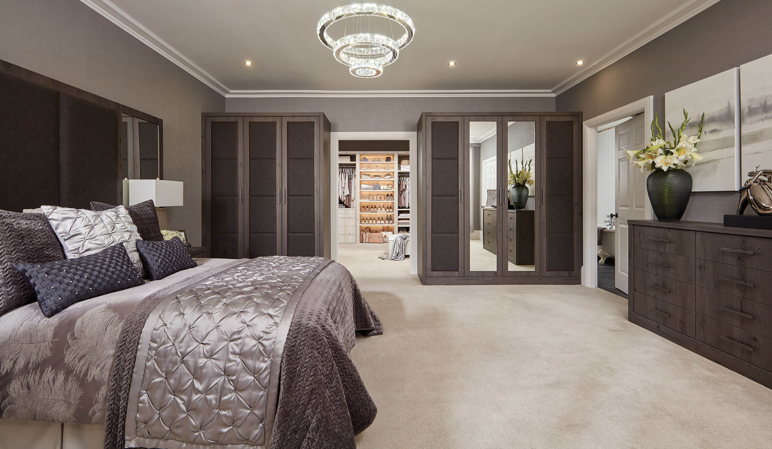 Fitted wardrobes fitted bedroom furniture neville johnson for Bedroom designs uk