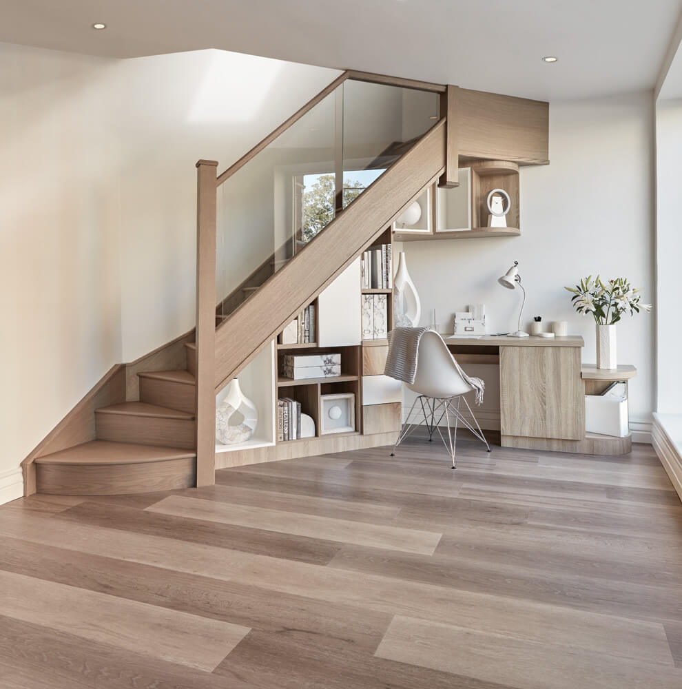 Home Office Under Stairs 7