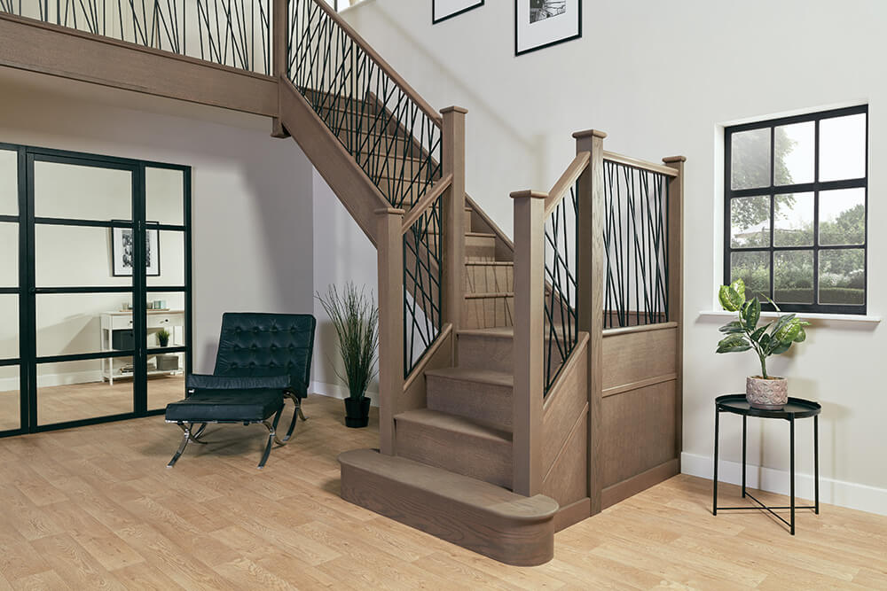 Steel Staircase Renovation