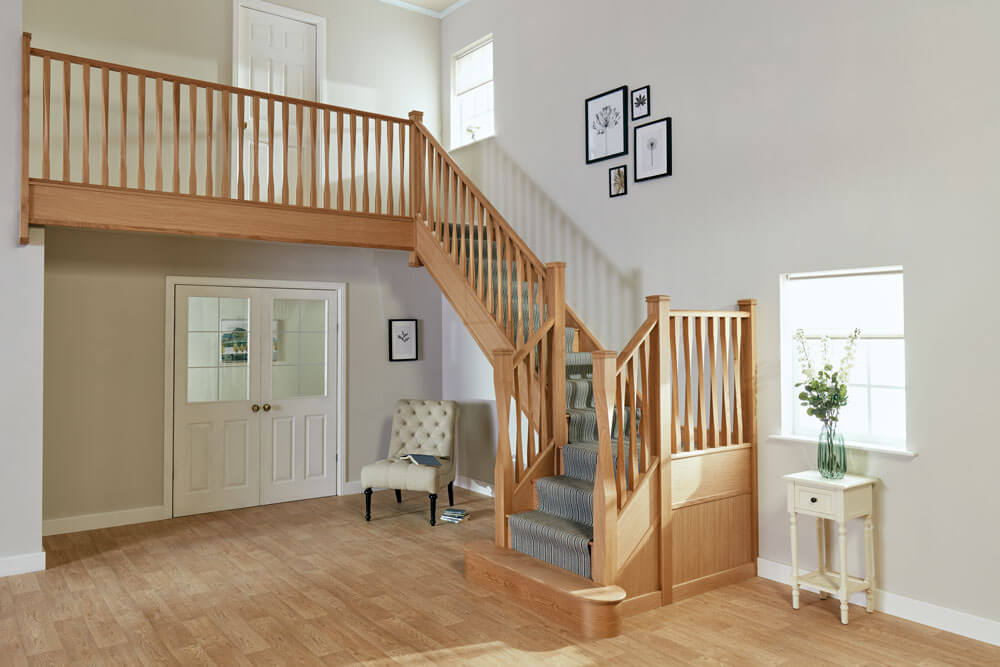 Eden oak staircase
