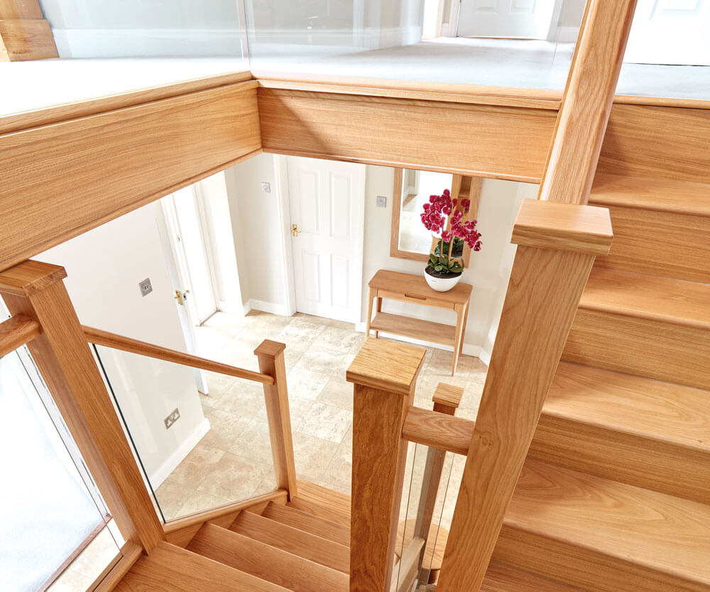 In-line Glass Staircase