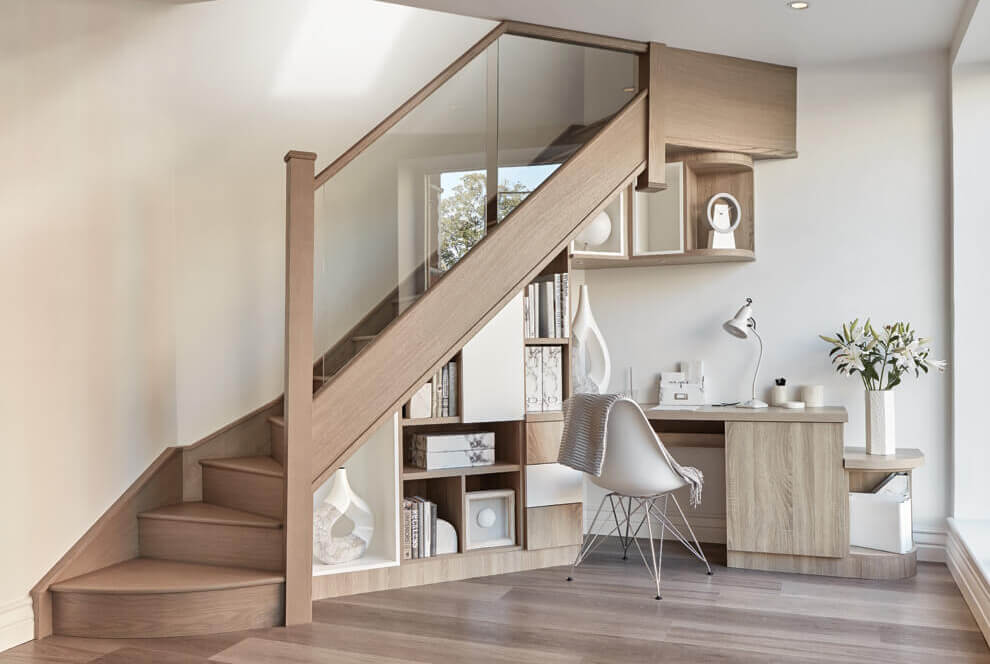 Lighting Basement Washroom Stairs: Our Latest Understairs Study