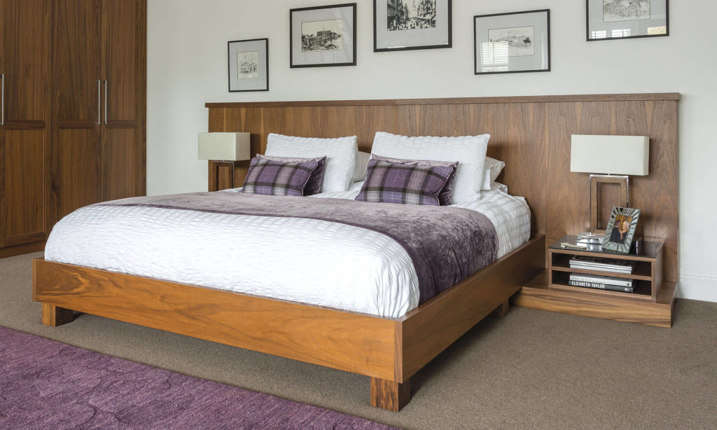 Walnut Bedroom Furniture Uk beautiful walnut bedroom furniture - neville johnson