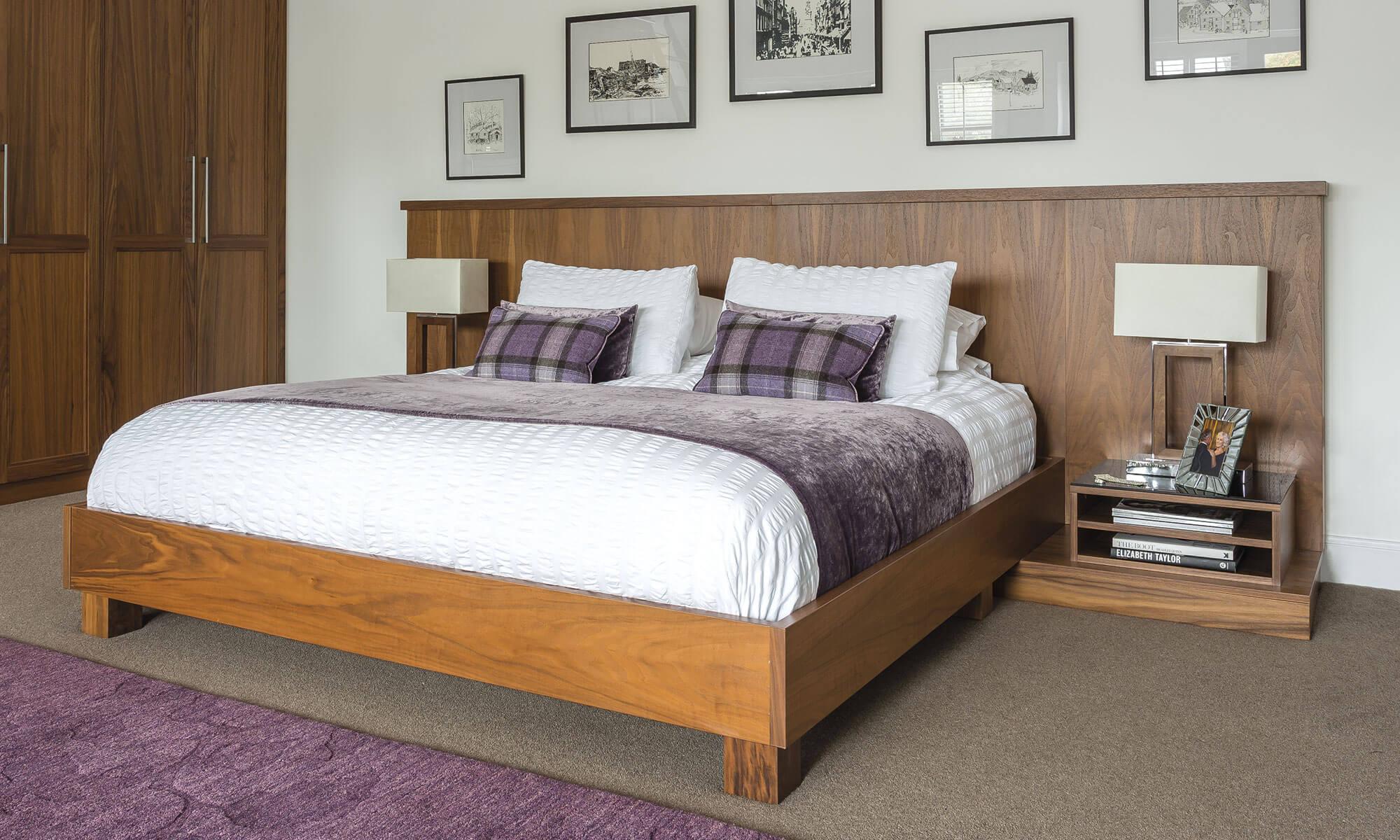 Beautiful Walnut Bedroom Furniture - Neville Johnson - photo#40