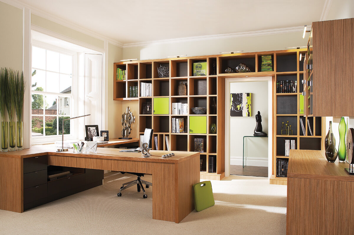 Captivating Bespoke Home Office Furniture