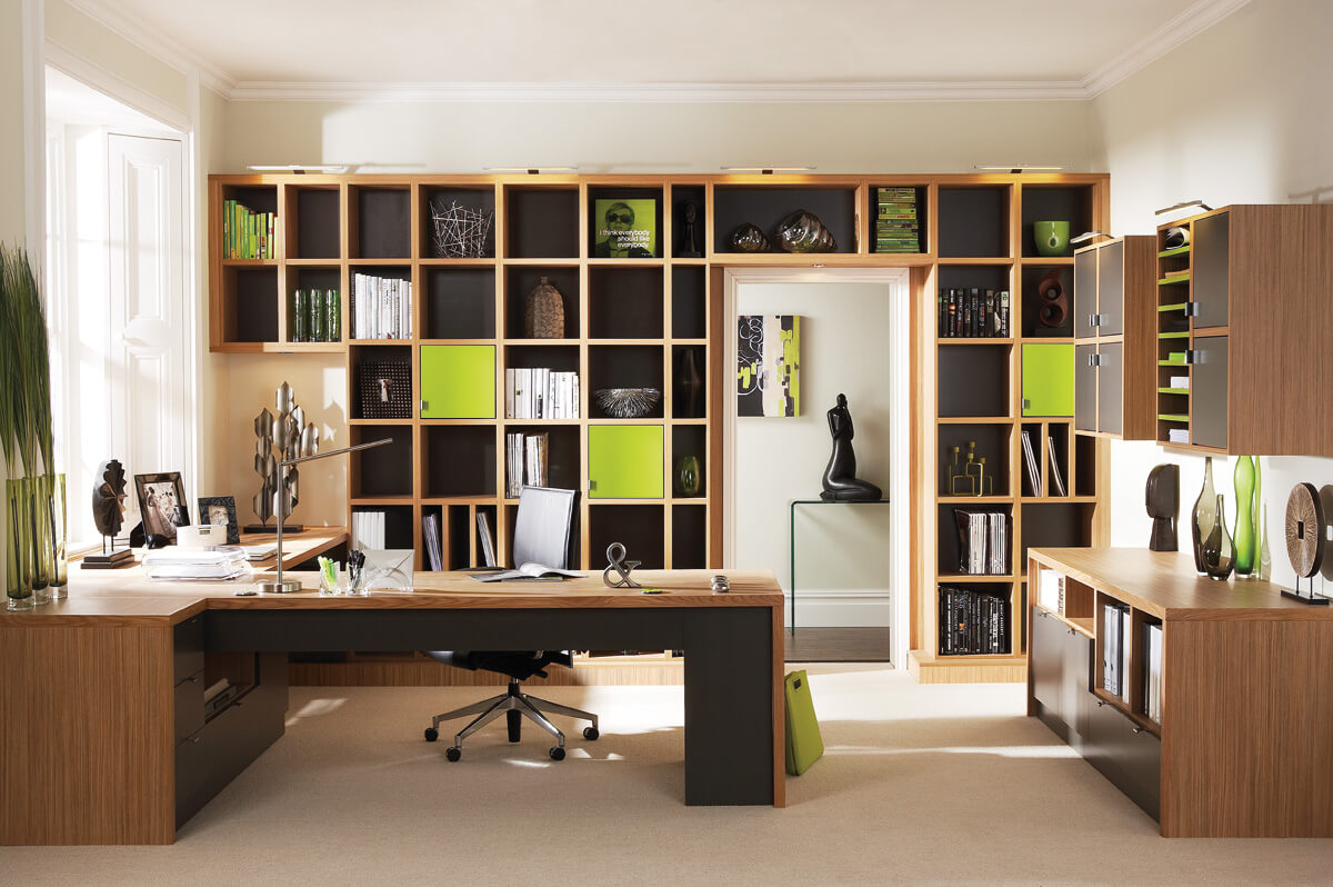 Image of: Bespoke Home Office Furniture Neville Johnson