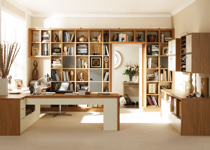 The Flexibility Of This Luxury Home Study Furniture Design Allows You To  Create A Room That Is Unique To You.