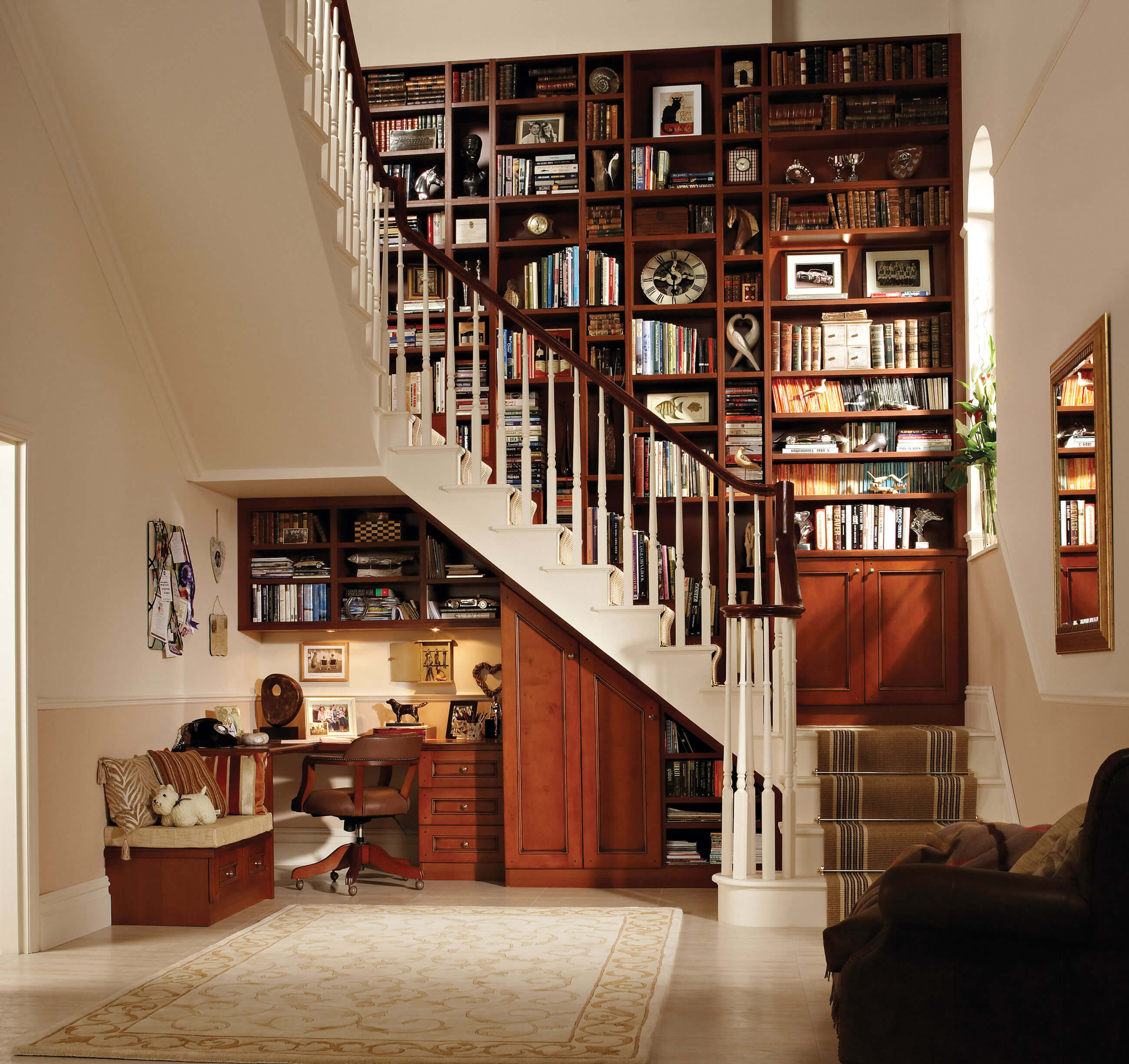 Stylish Understairs Study