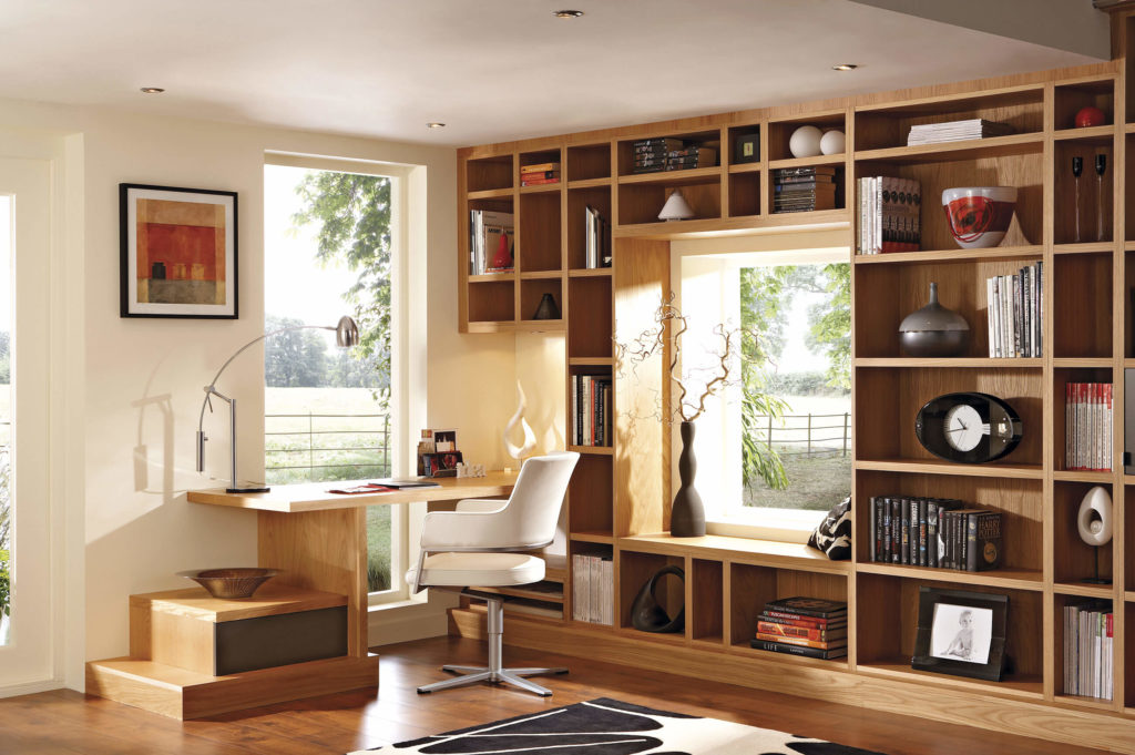 Oak Home Study Furniture Neville Johnson