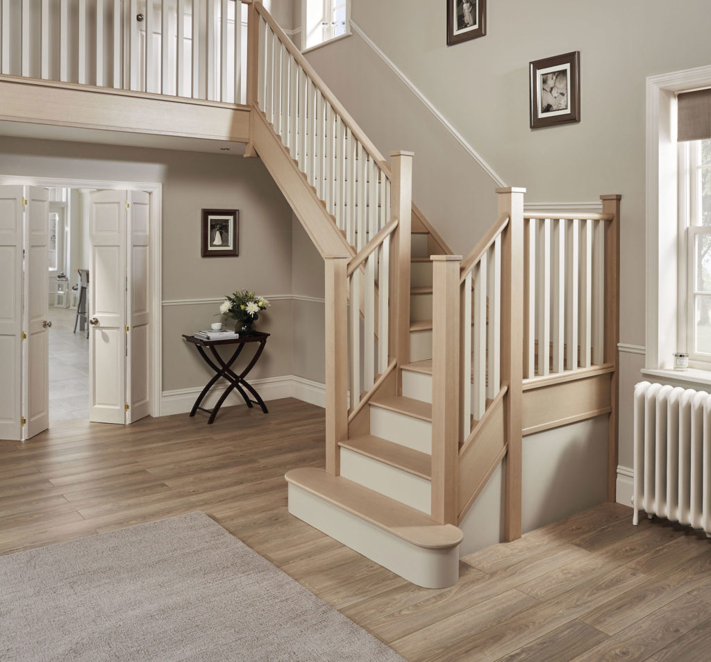 21 Attractive Painted Stairs Ideas Pictures: Wooden Staircases