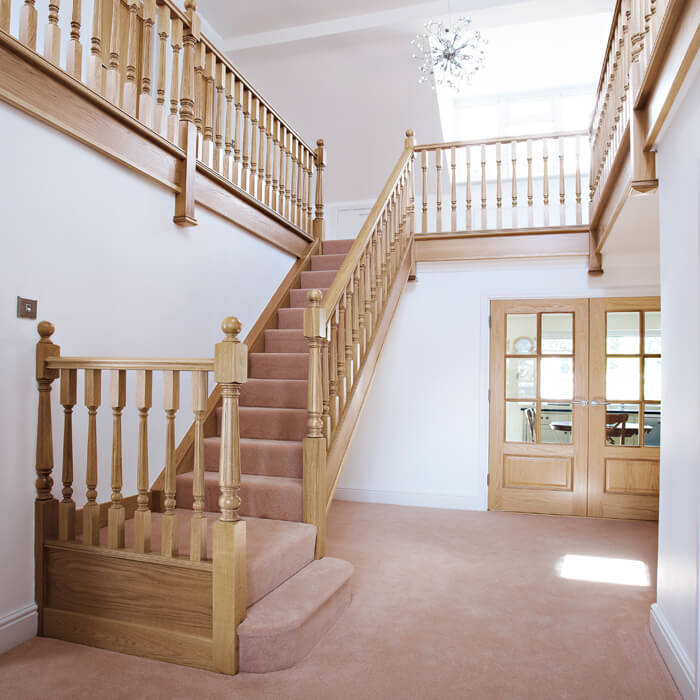 Staircases: Timber Staircase UK