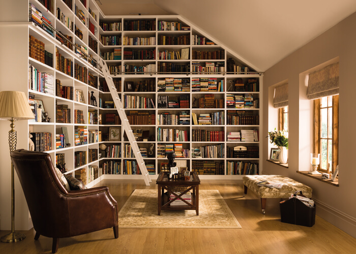 Fitted Bookshelves Classic Home Libraries Neville Johnson
