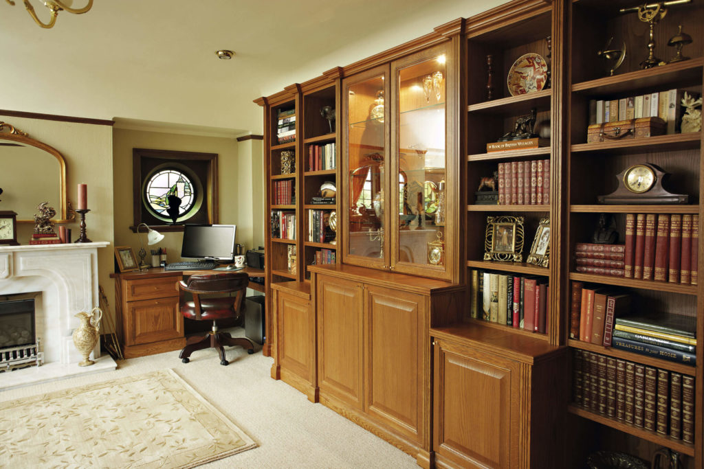 Designed With A Traditional Aesthetic And Finished In Ronson Oak, This  Grand Library Furniture Is Sympathetic To The Classic Styling Of The Home.