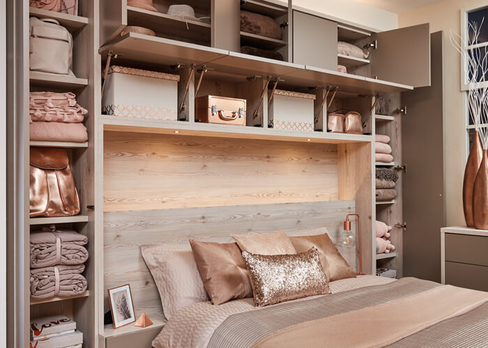 over bed storage