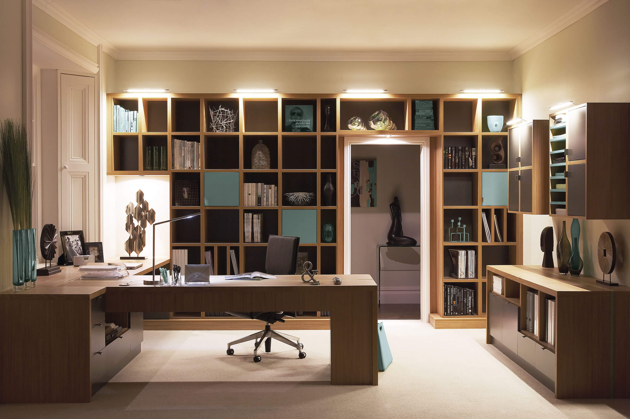 Contemporary study furniture neville johnson Home study furniture design