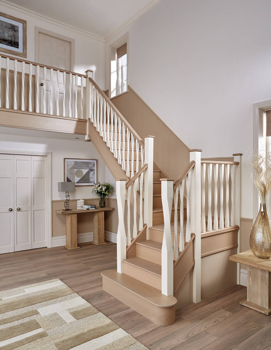 Picture of: Eden Painted Staircase Neville Johnson