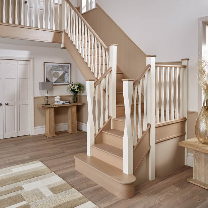 Traditional Painted Staircase