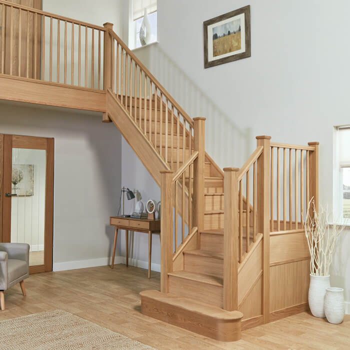 Stunning Staircase And Elevator Design Ideas: Wooden Staircases