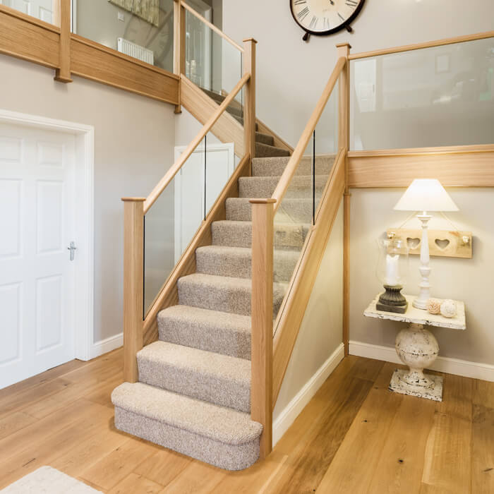 Glass Balustrade Staircase Uk Glass Bannisters Neville