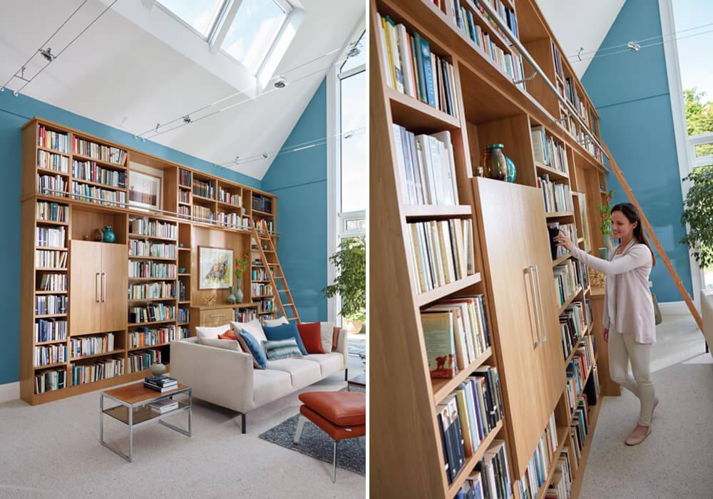 Light Oak Library