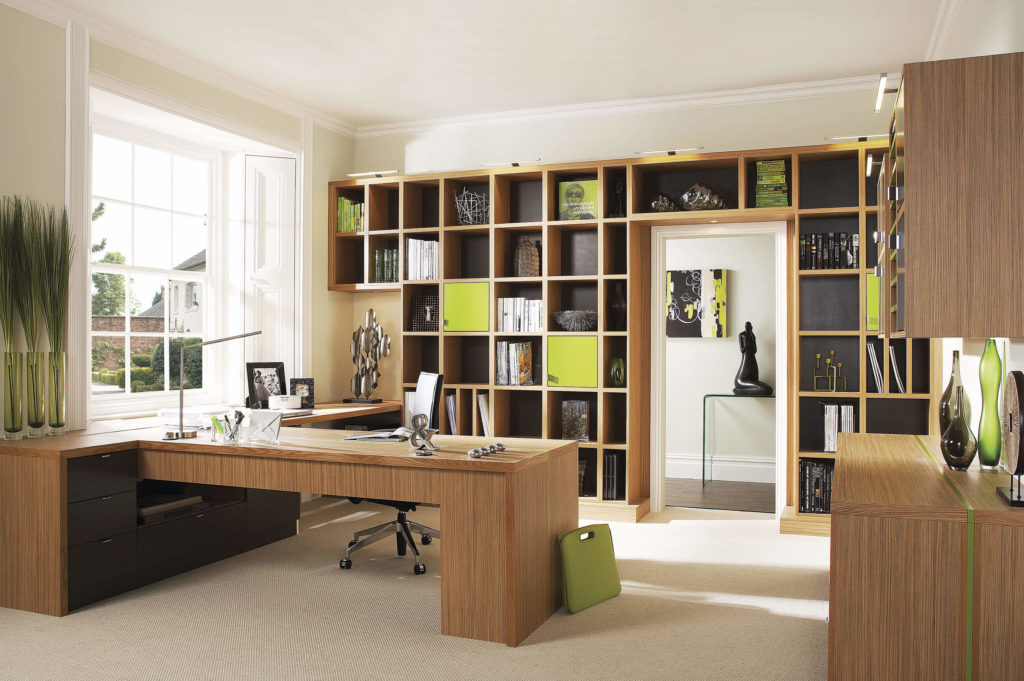 Bespoke study furniture neville johnson for Ideal home study room