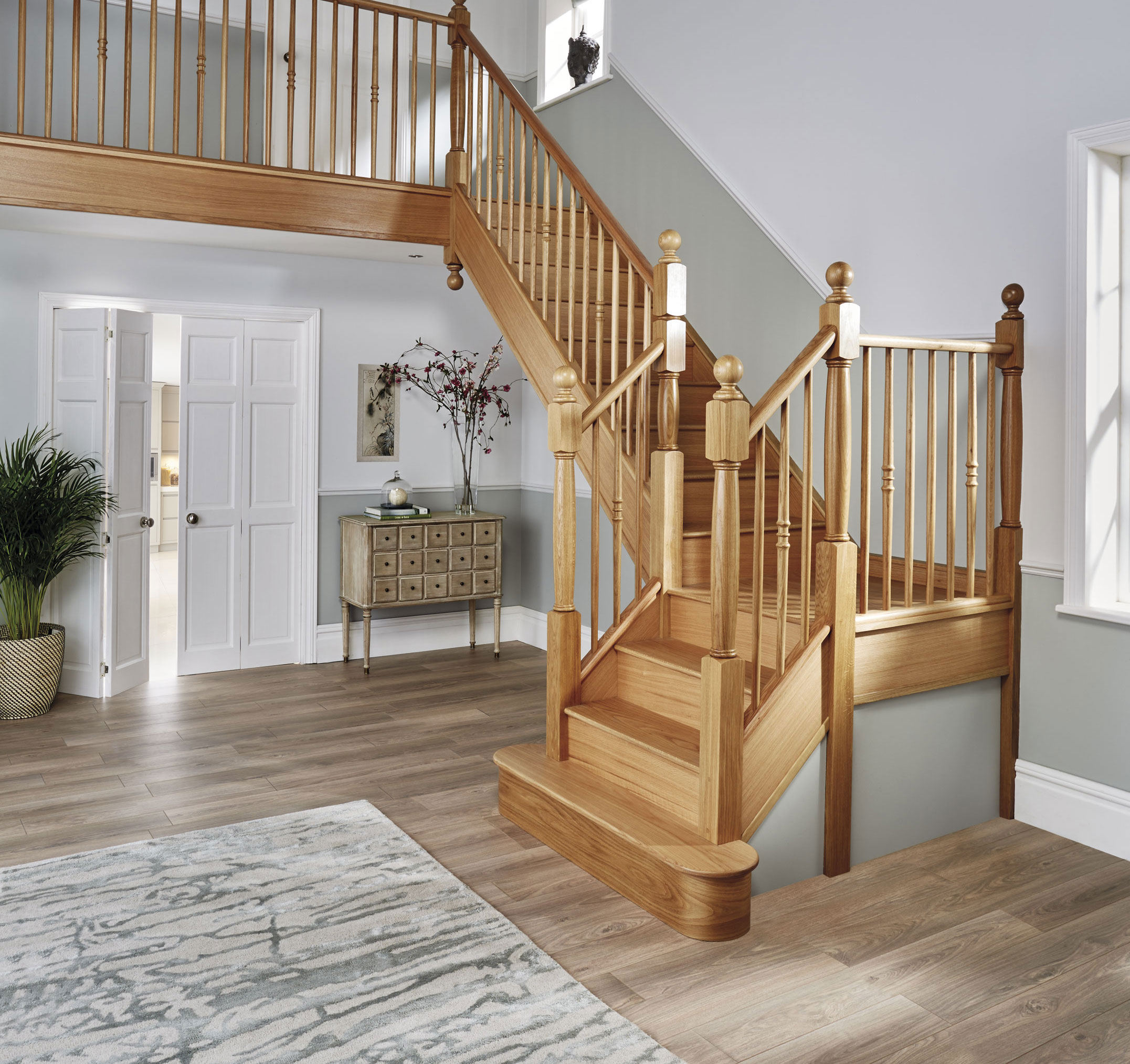 14 Staircases Design Ideas: Oak Staircase Design