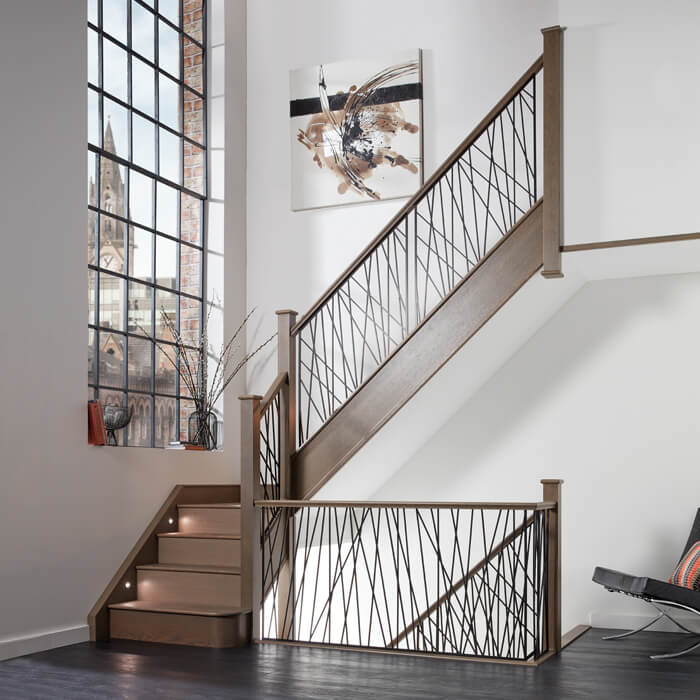 Pay Here Buy Here >> Opus Steel Staircase - Neville Johnson