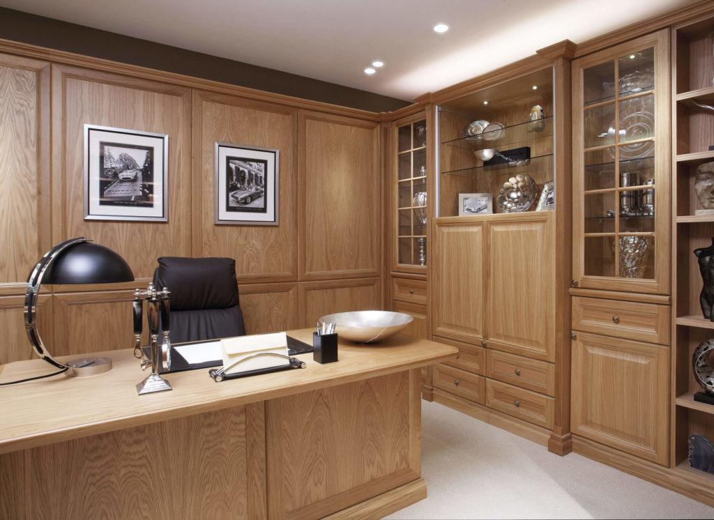 Traditional Oak Study Neville Johnson