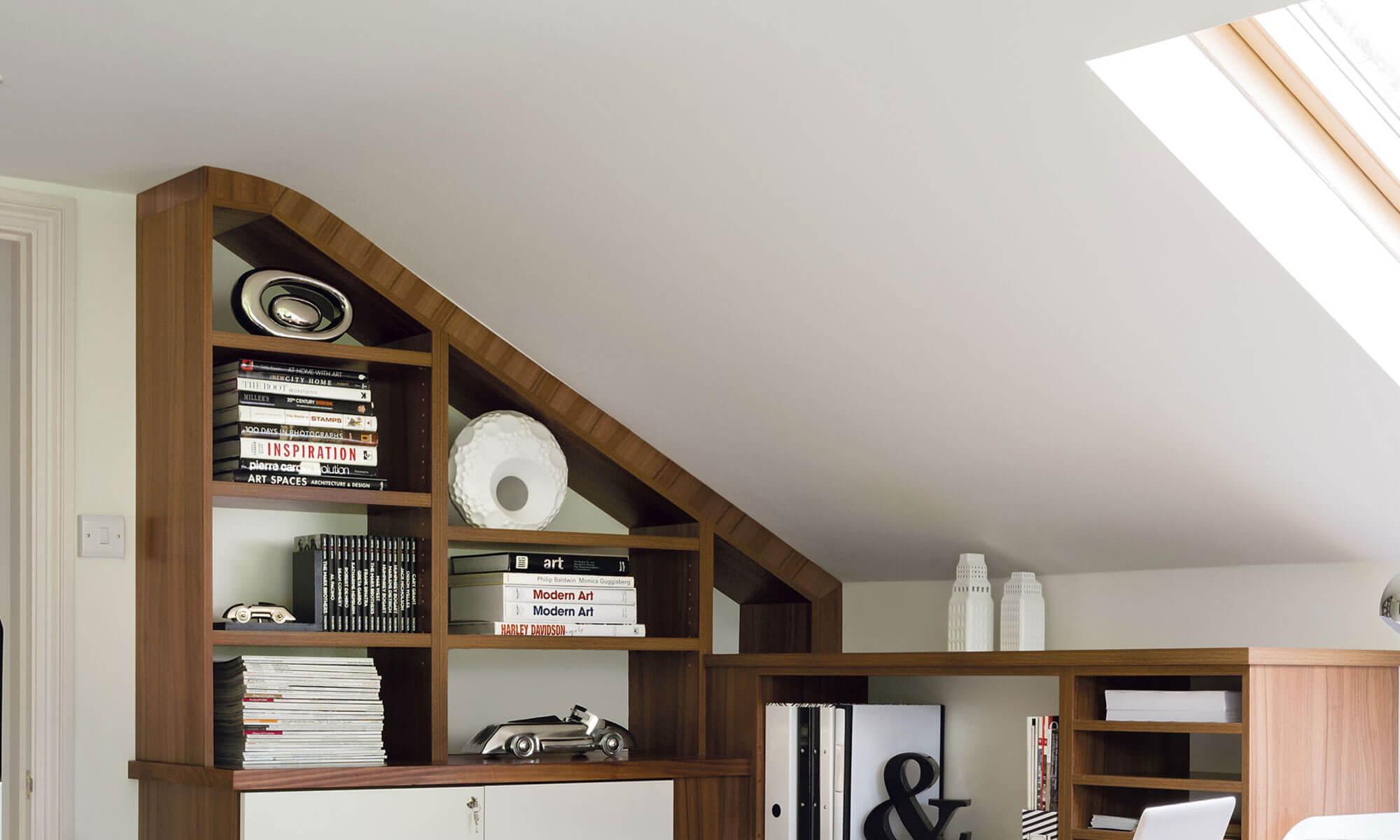 Spacious Loft Home Office Neville Johnson