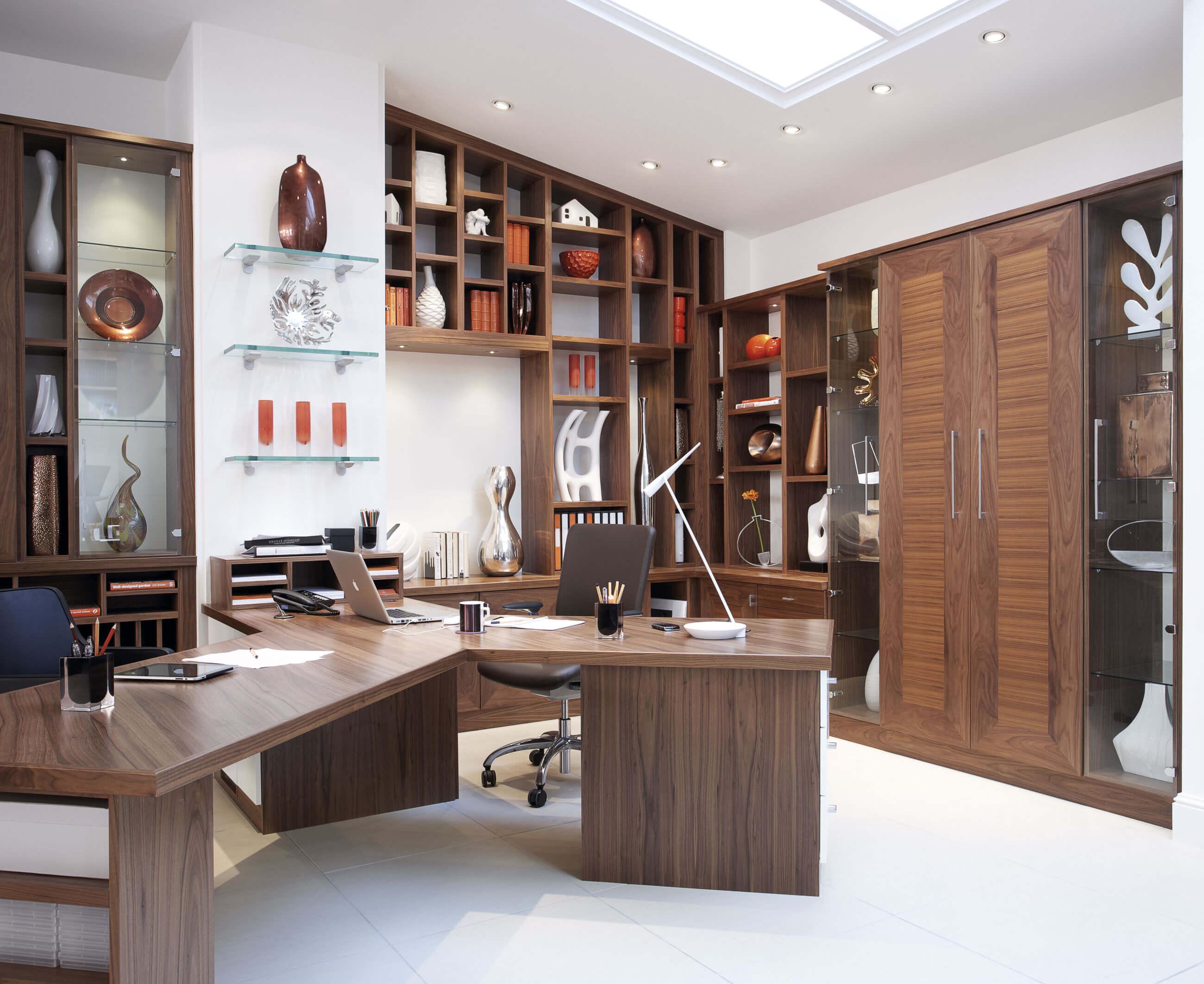 Walnut Office Furniture Neville Johnson