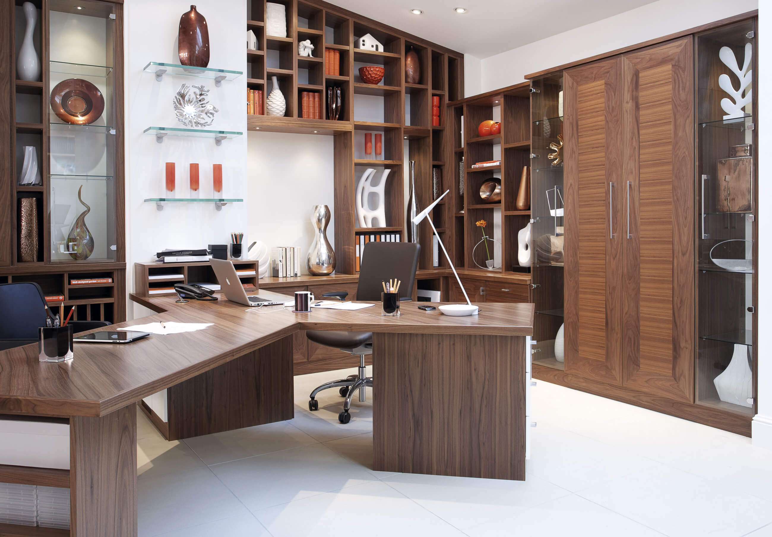 Home Study Furniture Walnut Office Furniture Neville Johnson