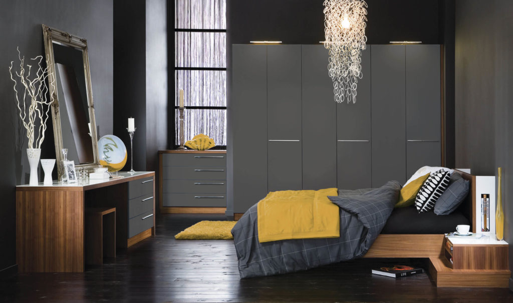 modern fitted bedroom furniture. This Contemporary Bedroom Suite Can Be Personalised To Fit Any Colour Scheme Or Room Shape. Modern Fitted Furniture