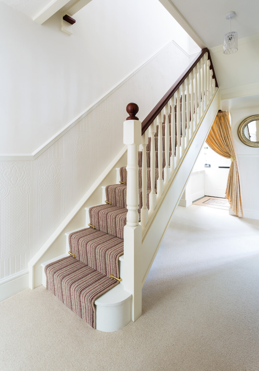 Traditional Painted Staircase Neville Johnson