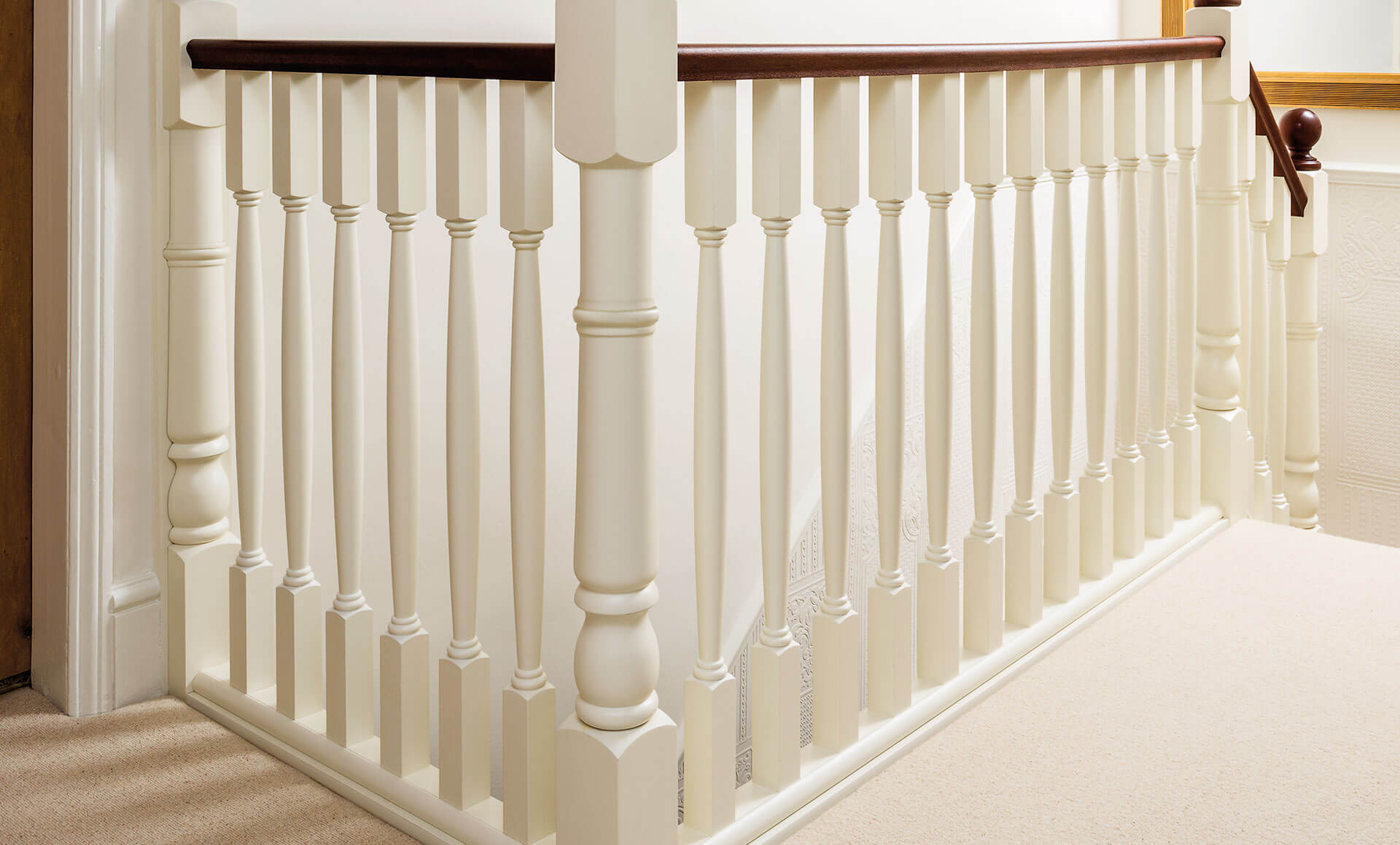 Picture of: Traditional Painted Staircase Neville Johnson