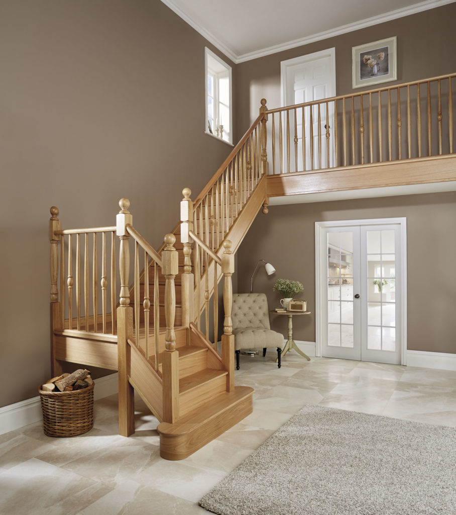 Expertly Crafted From High Quality Oak Timber, This Bespoke Design Has Been  Built Onto The Existing Staircase Structure.